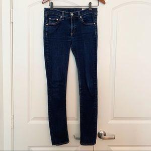 Rag & Bone Dark Wash Skinny Heritage Jeans